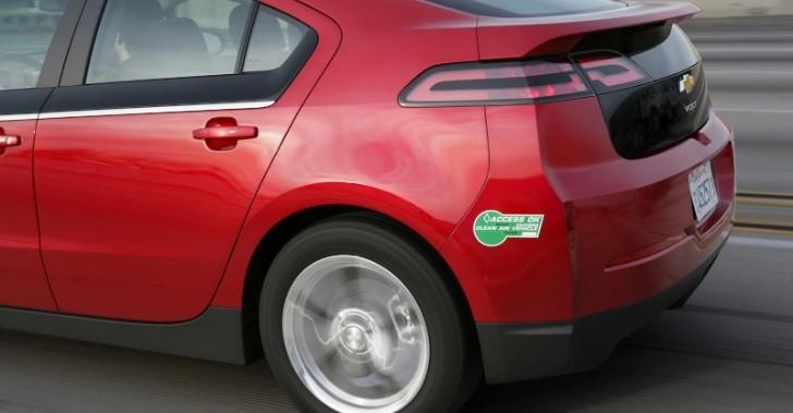 Can Electric Car Go Carpool Lane