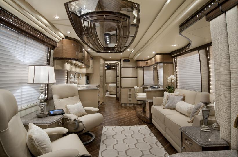 2012 Elegant Lady Luxury Motor Coach Introduced