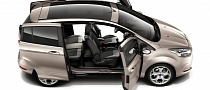 2012 Ford B-MAX: Easy Access Door System Revealed