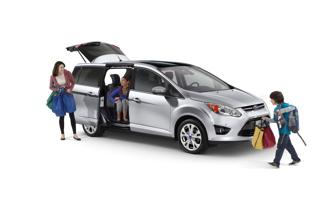Ford C Max Seat Configuration >> 2012 Ford C-Max Will Move US Families - autoevolution