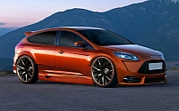 2012 Ford Focus ST Three-door rendering