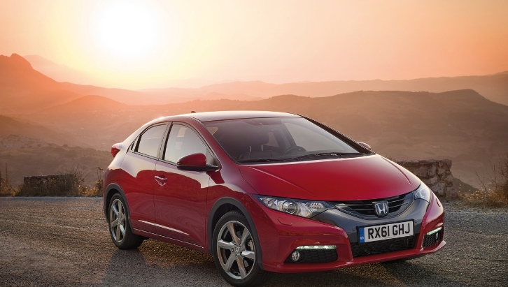 2012 Honda Civic Arriving in UK