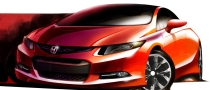 2012 Honda Civic Concept to Debut at NAIAS