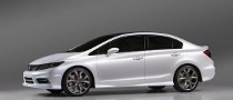 2012 Honda Civic Named Top Safety Pick by the IIHS