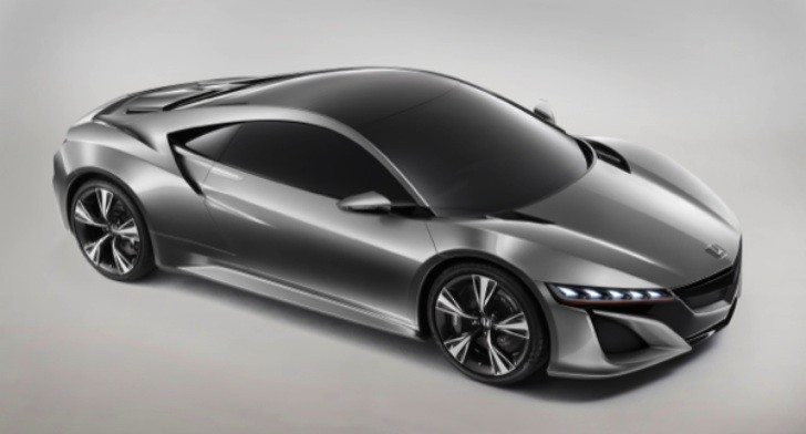 2012 Honda NSX Concept to Debut in Geneva