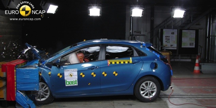 2012 Hyundai i30 Gets Five-Star Euro NCAP Rating [Video]