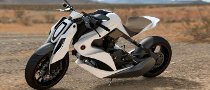2012 Izh Hybrid Motorcycle Concept Presented
