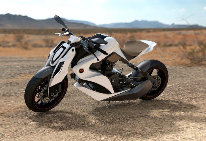 moto honda hybride