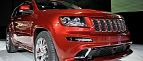 2012 Jeep Grand Cherokee SRT8 Enters Bullrun Live Rally