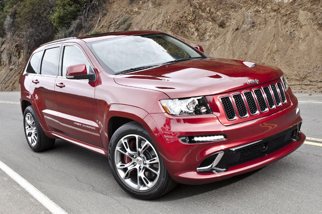 2012 jeep grand cherokee srt8 unveiled autoevolution. Black Bedroom Furniture Sets. Home Design Ideas