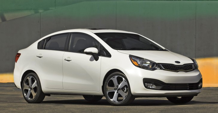 2012 Kia Rio Sedan US Pricing Announced