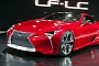 2012 Lexus LF-Lc Named Best Design Concept in Detroit