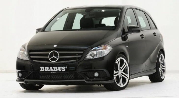 2012 Mercedes B-Class Tuned by Brabus [Photo Gallery]