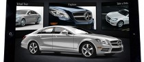 2012 Mercedes-Benz CLS-Klasse Gets Its Own iPad App