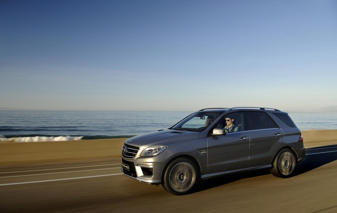 2012 mercedes benz ml63 amg us pricing autoevolution for Mercedes benz 2012 price