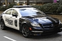 2012 Mercedes CLS63 AMG Fashion Police Car Patrols Michigan Avenue