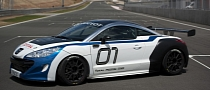 2012 Peugeot RCZ Race Car Unveiled [Video] [Photo Gallery]