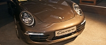 2012 Porsche 911 Launched in Romania [Live Photos]
