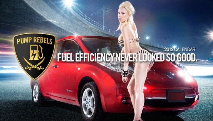 2012 Pump Rebels Calendar Released: Sexy Girls, Electric Cars