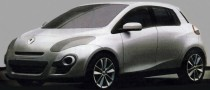 2012 Renault Clio Early Designs Leaked