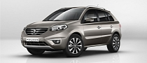 2012 Renault Koleos Facelift Pricing Announced