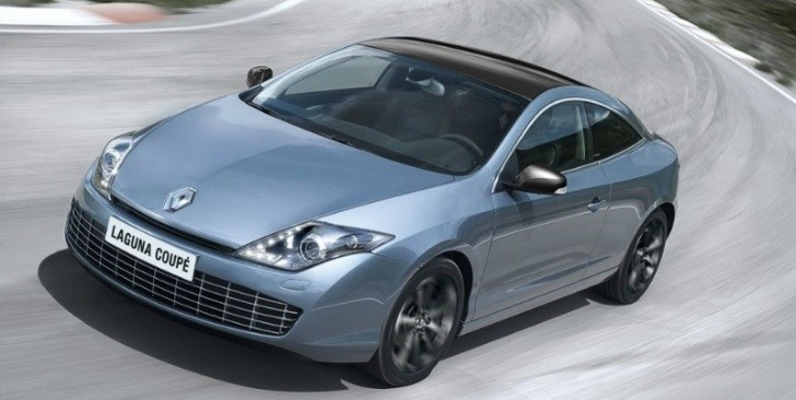 2012 Renault Laguna Coupe Facelift Unveiled: Gets LEDs!