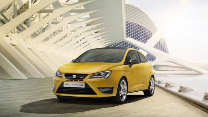 2012 SEAT Ibiza Cupra Concept Unveiled [Photo Gallery]