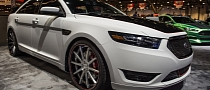 2012 SEMA: 2013 Ford Taurus SHO by CGS Motorsports [Live Photos]