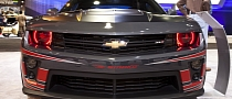 "2012 SEMA: Camaro ZL1 by Tony Stewart ""Smoke"" [Live Photos]"