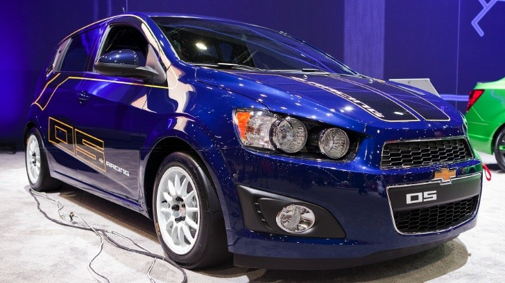 2012 SEMA: Chevy Sonic B-Spec Race Car [Live Photos]