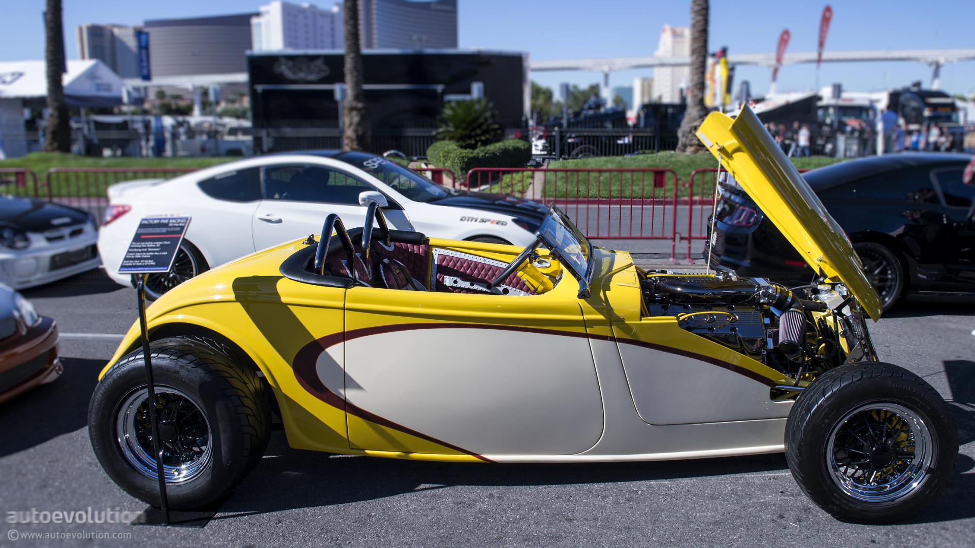 2012 SEMA: Factory Five \'33 Hot Rod [Live Photo] - autoevolution