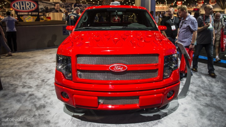 2012 SEMA: Ford F-150 FX2 Sport by K-Daddyz Kustomz [Live Photos]