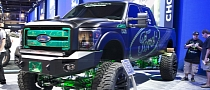 2012 SEMA: Ford F-250 XLT Crew Cab by Kelderman [Live Photos]