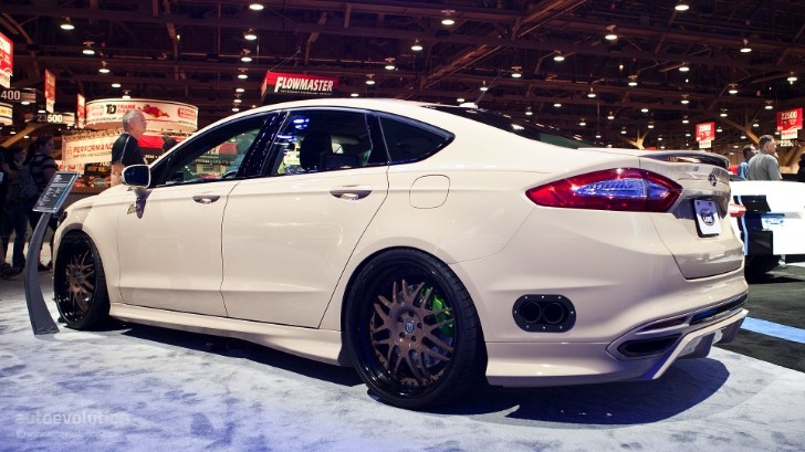2012 SEMA: Ford Fusion Tjin Edition [Live Photos]