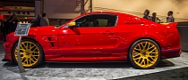 "2012 SEMA: Ford Mustang ""Boy Racer"" by 3dCarbon [Live Photos]"