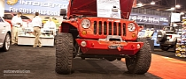 2012 SEMA: Jeep Wrangler Interceptor by Hypertech [Live Photos]