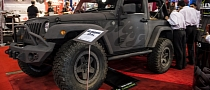 "2012 SEMA: ""Rubber Bully"" Jeep Wrangler [Live Photos]"