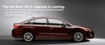 2012 Subaru Impreza to Make World Debut at NYIAS