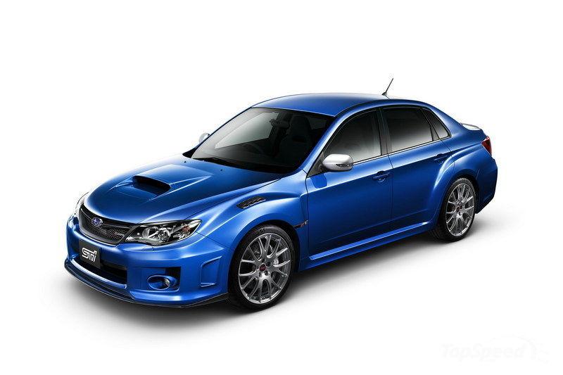 2012 Subaru Impreza WRX STI S206 Launched  autoevolution