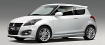 2012 Suzuki Swift Sport Confirmed for World Premiere in Frankfurt