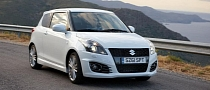 2012 Suzuki Swift Sport UK Pricing Announced