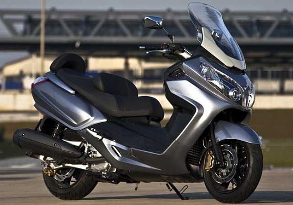 2012 SYM MaxSym 400i Scooter Details
