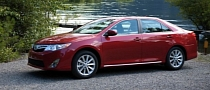 2012 Toyota Camry Ears 5-Star Rating from NHTSA
