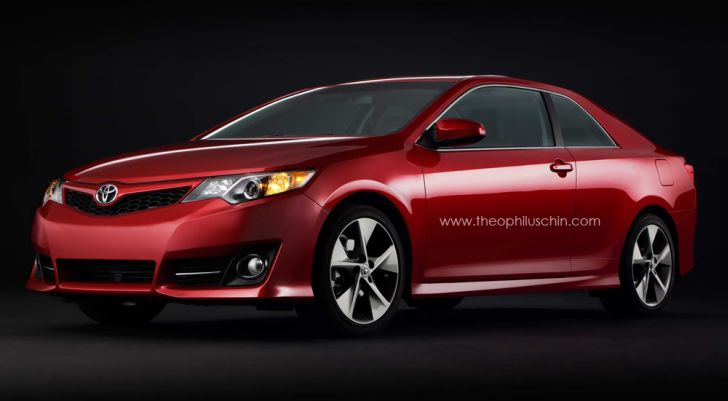 2012 Toyota Camry Solara Coupe Rendering Released