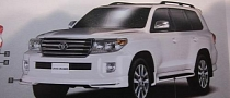 2012 Toyota Land Cruiser Facelift Leaked