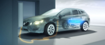 2012 Volvo V60 Plug-in Hybrid Safety Features Detailed