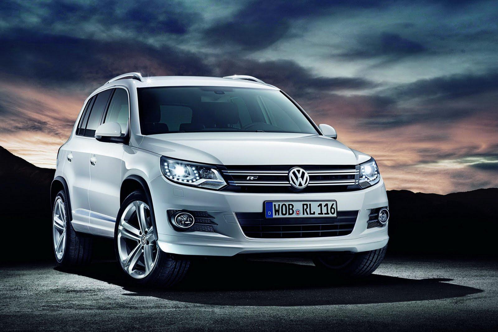 2012 Vw Tiguan R Line Packages Revealed Autoevolution