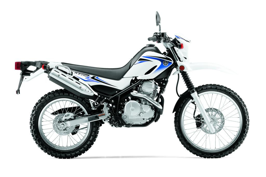 2012 Yamaha XT250 and TW200 Motorcycles Introduced