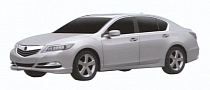 2013 Acura RLX Leaked via Patent Photos