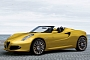 2013 Alfa Rome 4C Spider Convertible Rendered